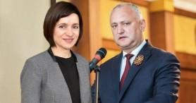 Sondaj // Maia Sandu l-a DEPĂȘIT pe Igor Dodon în topul încrederii populației